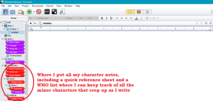character-binder