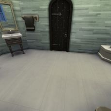 One view of the bathroom on the main floor.
