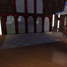 First view of the two story ballroom.